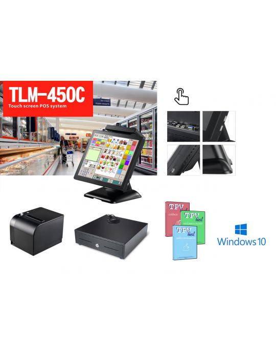TPV POS TLM-450 COMPLETO (Con software)